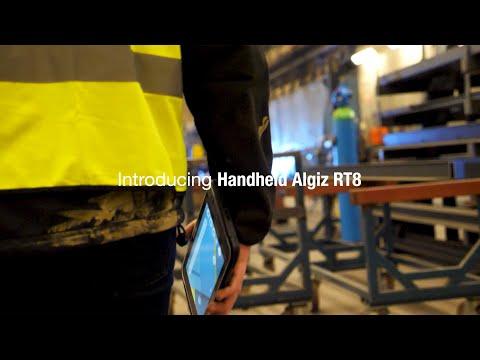 Introducing the Handheld ALGIZ RT8