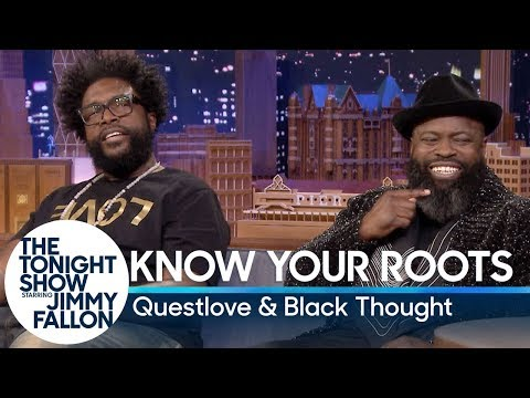 """Know Your Roots with Questlove and Tariq """"Black Thought"""" Trotter"""
