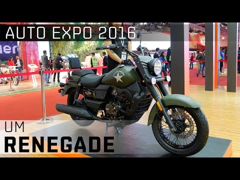 UM Renegade Commando & Sport S :: 2016 Auto Expo WalkAround video
