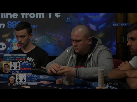 €75,000 for 1st | Day 2 €888 Main Event - 888poker LIVE Bucharest