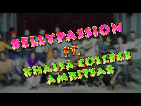 Bhangra in Punjab By Bellypassion ft  Khalsa College Amritsar!