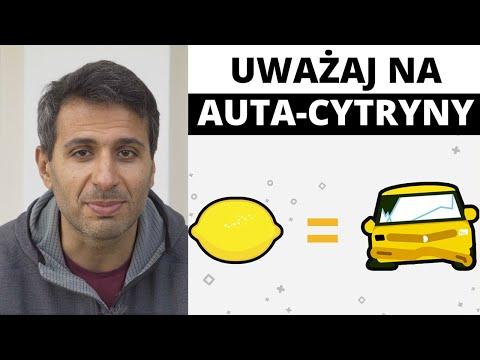 Lemon Car - co to jest i jak uniknąć wpadki? (Historia pojazdu VIN)
