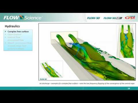 Water Resources Webinar: A comprehensive review of FLOW-3D's modeling capabilities