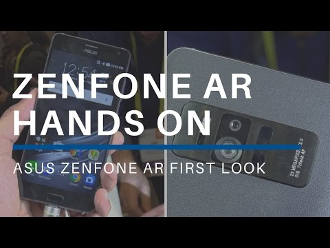 Asus Zenfone AR Hands On At CES 2017