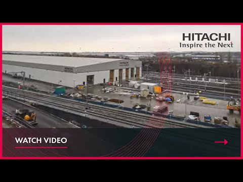 Time-lapse of the Hitachi Doncaster depot being built