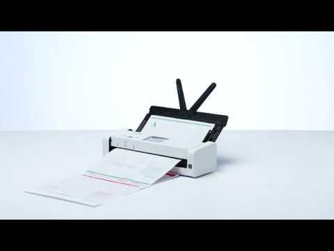 Tour de producto ADS-1700W. Escáner departamental compacto con WiFi