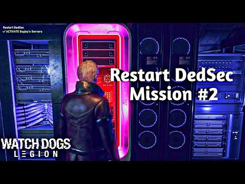WATCH DOGS LEGION  MISSION #2   Restart Dedsec