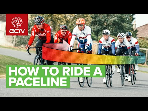 How To Ride In A Paceline   Through And Off Explained