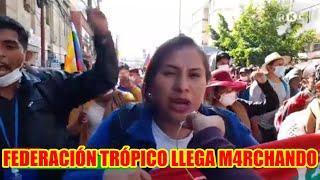 FEDERACIÓN EL TRÓPICO DE COCHABAMBA HACE SU INGRESO...