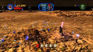 Lego Star Wars III: The Clone Wars Walkthough: Mission 1 - Chapter 1 [HD] (PS3/XBOX 360/Wii/PC)