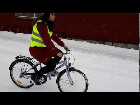 Cykelteknik - 05 - Bromsa i backe