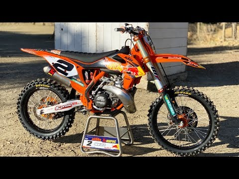 Motocross Action tests Cooper Webb's Factory KTM 300SX 2 Stroke