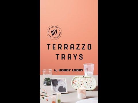 DIY Terrazzo Trays