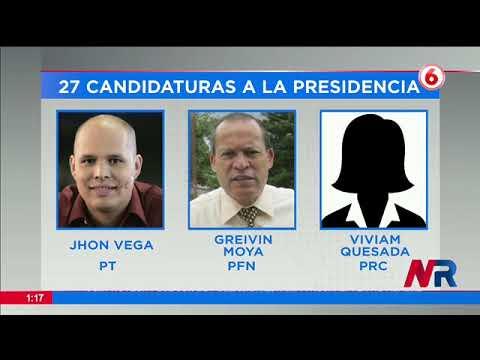 Elecciones presidenciales con récord de aspirantes