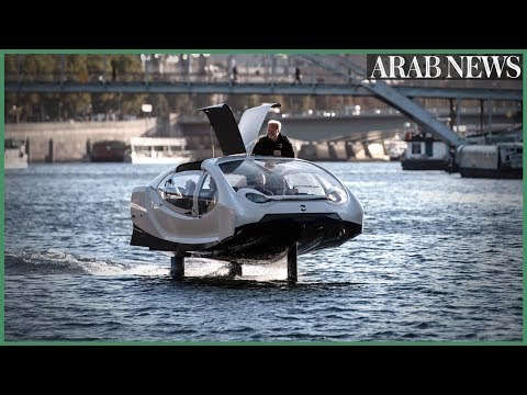 A new way to hitch a ride in Paris: future 'flying' taxi