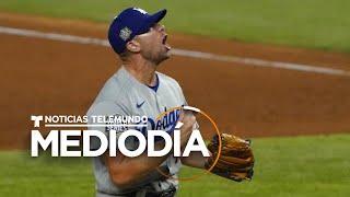 Los Dodgers están a un juego de alzarse con la Serie Mundial | Noticias Telemundo
