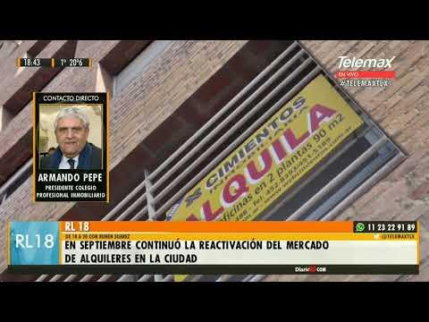 #Alquileres | Armando Pepe - Presidente CUCICBA  #RL18