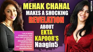 Mahek Chahel REVEALS something major about Ekta Kapoor's Naagin 5 | Checkout to know more | - TELLYCHAKKAR