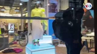 Saquean tiendas en Nueva York en medio de protestas contra la violencia policial