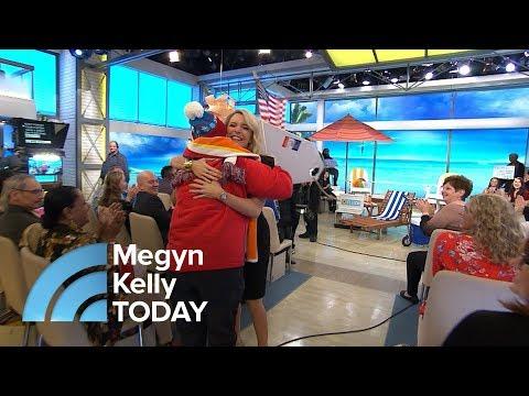 Megyn Kelly TODAY Audience Member Wins A Sunny Getaway | Megyn Kelly TODAY