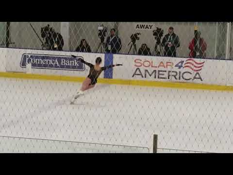 Mirai Nagasu Hits Triple Axel, No. 3 - US Nationals, Ladies'  Free Skate Practice 2018.01.04