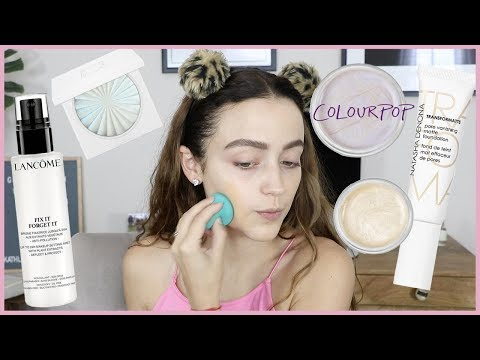 NEW Natasha Denona Pore Vanishing Matte Foundation WEAR TEST + MORE NEW STUFF