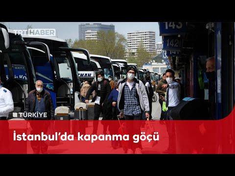 İstanbul'da tam kapanma yoğunluğu