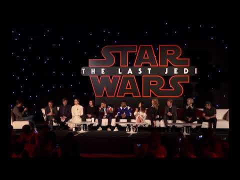 Star Wars The Last Jedi Press Conference PART 1🕶🤺🛸🚀