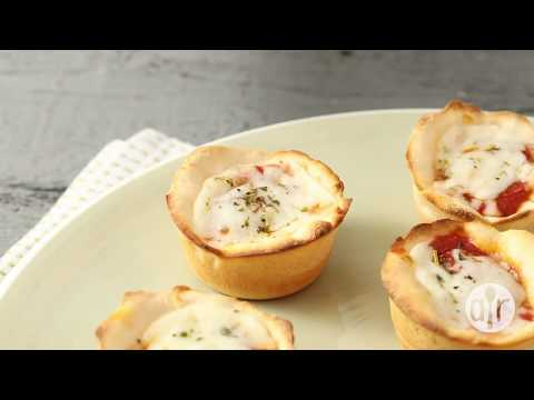 How to Make Easy Pepperoni Pizza Muffins | Pizza Recipes | Allrecipes.com
