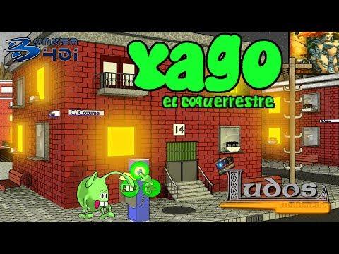 Yago el Coqueterrestre de LUDOS MULTIMEDIA - Entrevista a Jorge Vera