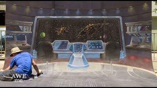 Star Trek Beyond Chalk Art! - AWE Me Artist Series