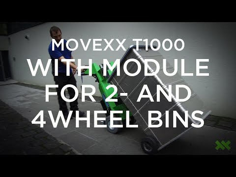 Movexx T1000 with module for 2  and 4 wheel bins