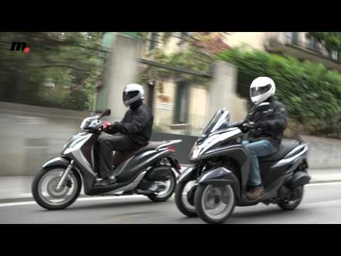 """Comparativo scooter 125: ¿2 o 3 ruedas"""""""