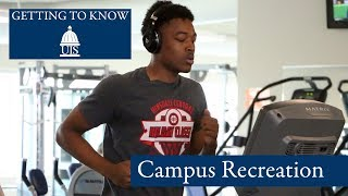 Getting to Know UIS: Campus Recreation