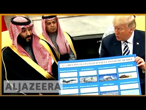 🇸🇦🇺🇸 Saudi crown prince meets Trump at the White House | Al Jazeera English