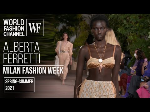 Alberta Ferretti spring-summer 2021 | Milan fashion week