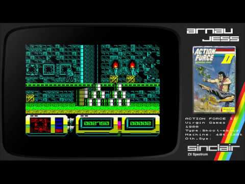 ACTION FORCE II: International Heroes Zx Spectrum by Virgin Games