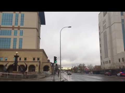 Albuquerque gets rain after more than 90 days.