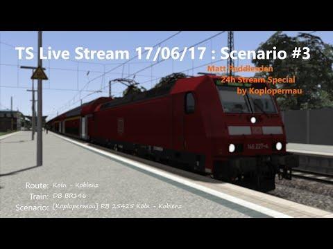 [Koplopermau] RB 25425 Köln - Koblenz (Livestream 17/06/17)