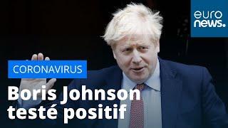 Le Premier ministre britannique Boris Johnson testé positif au coronavirus