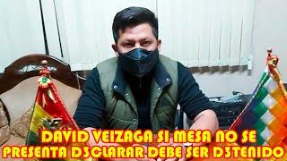 DAVID VEIZAGA MENCIONÓ QUE CARLOS MESA ES CULP4BLE DE TODO LO QUE VIVIÓ BOLIVIA EN EL 2019..