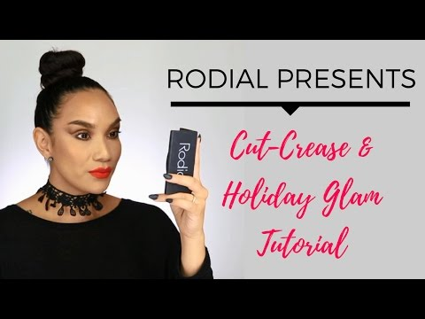 Rodial X Planet Beauty | Cut-Crease & Holiday Glam Tutorial