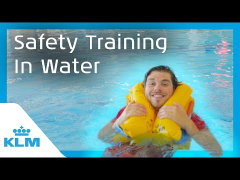 KLM Intern On A Mission - Safety Training In Water
