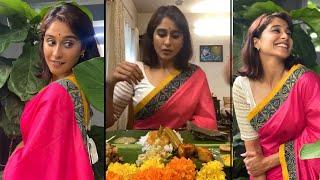 Actress Regina Cassandra Onam Celebration With Her Family | IG Telugu - IGTELUGU