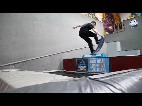 Max Parrot Snowboard Training