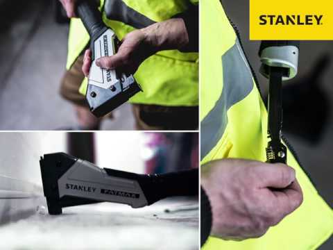 The STANLEY® FATMAX® ANTIVIBE™ Hammer Tacker