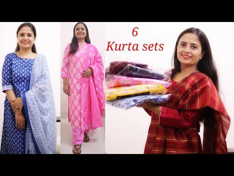 Best mind blowing Deal on kurta palazzo and Dupatta set - Amazon Shopping Haul