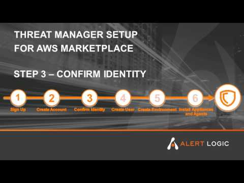Alert Logic Threat Manager Plus ActiveWatch for AWS Marketplace - Step 3