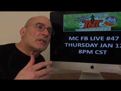 46 - Michael Cole Facebook Live - In Search of Awesomeness: Top 20 Ninjas Pt 2