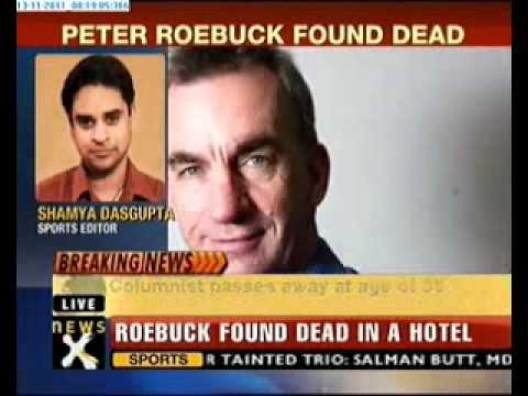 Cricket writer Peter Roebuck found dead in a hotel